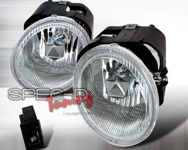 SpecD OEM Style Clear Fog Lights Nissan Maxima 00-01