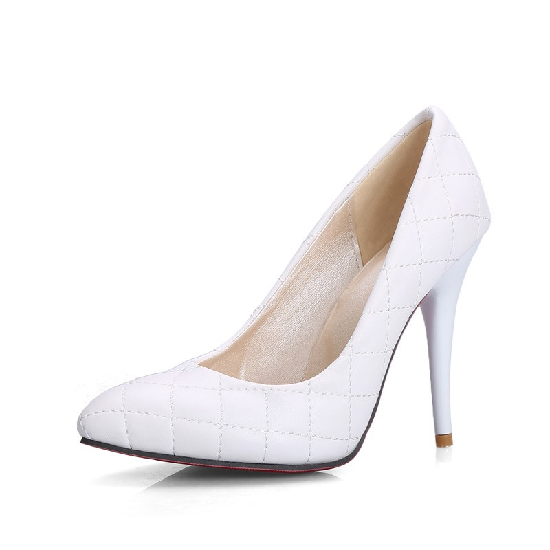 Ericdress Stiletto Heel Pointed Toe Slip-On Casual Thin Shoes