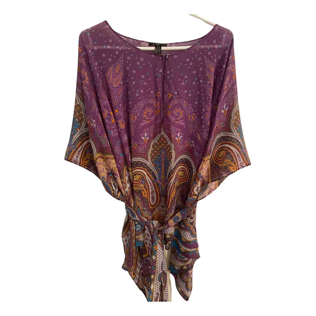 Etro \N Multicolour Silk  top for Women 000 0-5