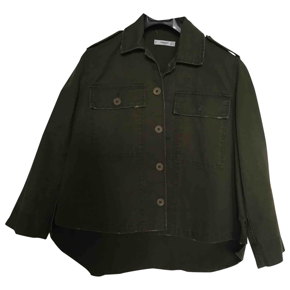 Mango \N Khaki Cotton jacket for Women S International