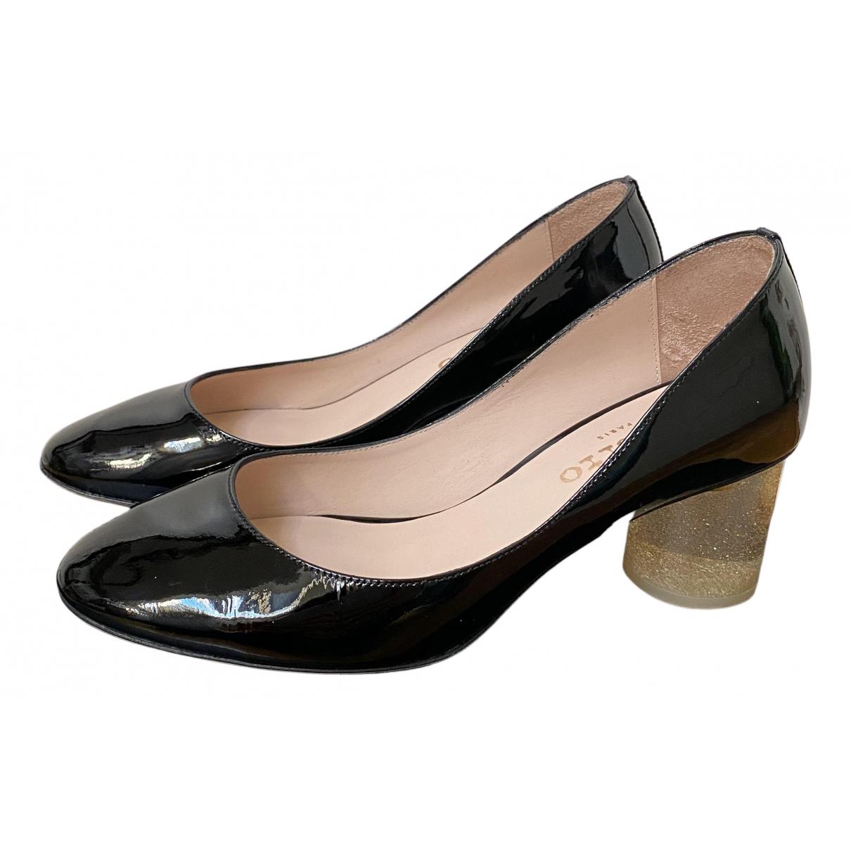 Repetto - Escarpins   pour femme en cuir verni - noir