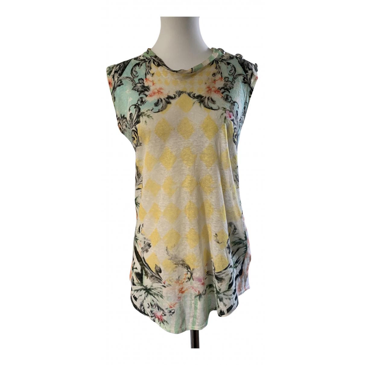 Balmain N Multicolour Linen  top for Women S International