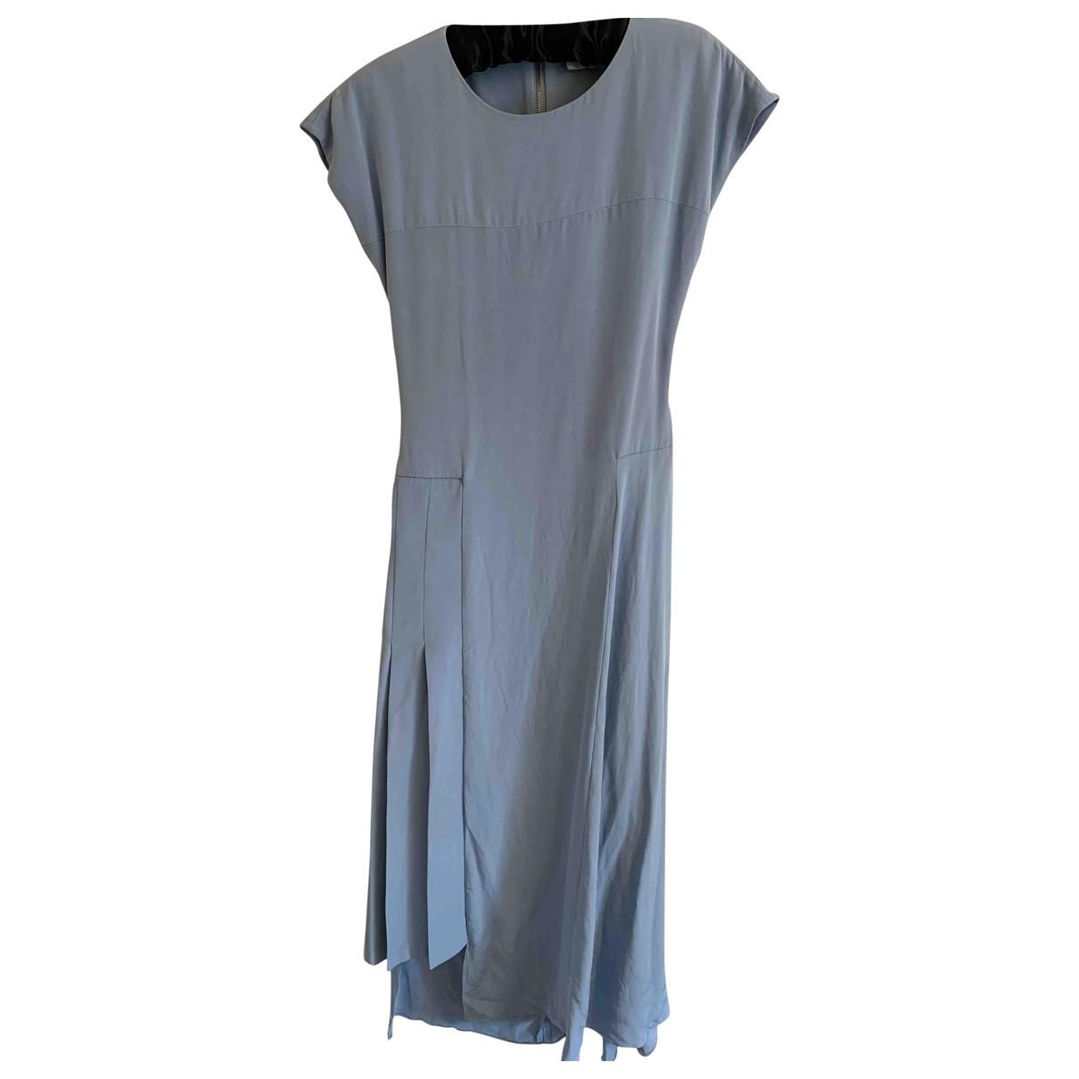 Tophop Unique \N Kleid in  Blau Seide
