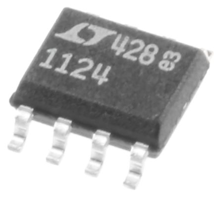 Analog Devices LT1124CS8#PBF , Op Amp, 12.5MHz, 8-Pin SOIC