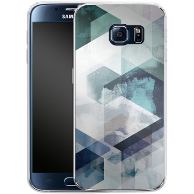 Samsung Galaxy S6 Silikon Handyhuelle - Graphic 165 von Mareike Bohmer