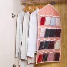 Organizador de pared con bolsillos