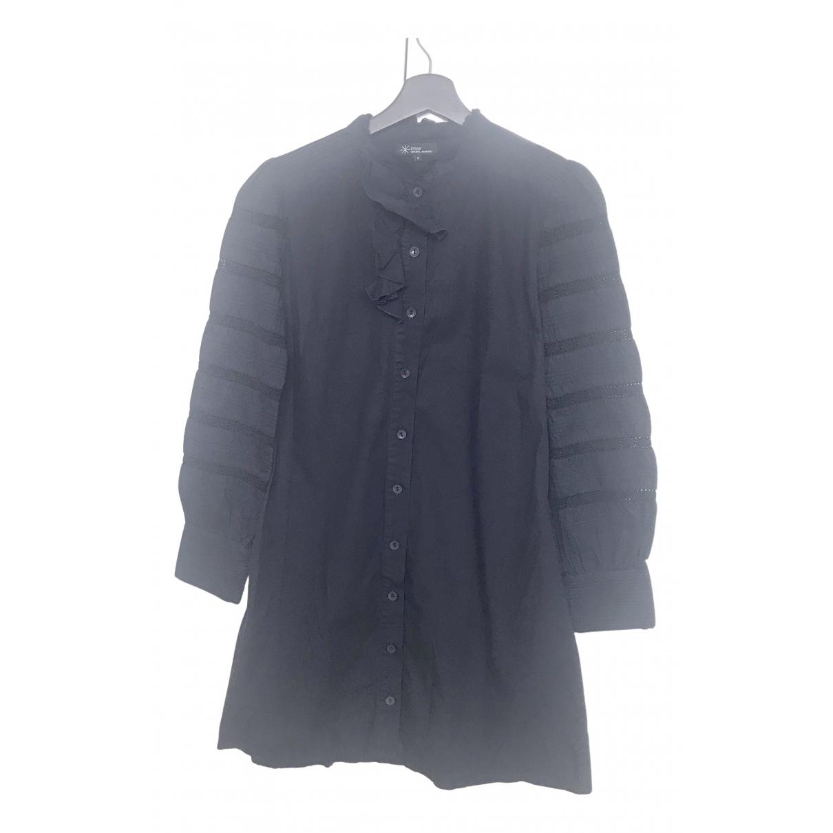 Isabel Marant \N Navy Cotton dress for Women M International