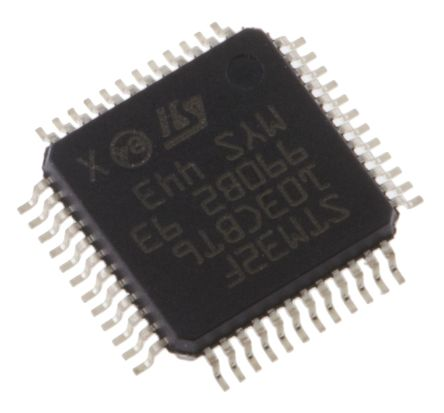 STMicroelectronics STM32F103CBT6, 32bit ARM Cortex M3 Microcontroller, STM32F, 72MHz, 128 kB Flash, 48-Pin LQFP