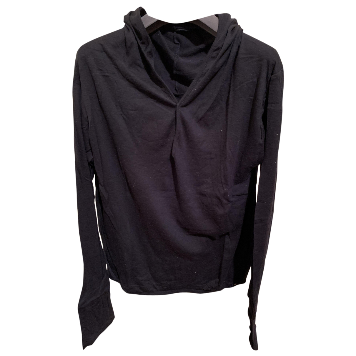 Y's N Black Cotton Knitwear for Women 3 0-5