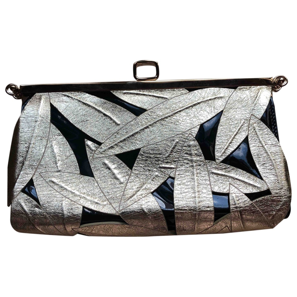 Roger Vivier \N Patent leather Clutch bag for Women \N