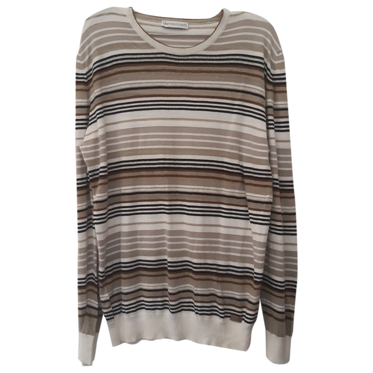 Trussardi \N Pullover.Westen.Sweatshirts  in  Bunt Baumwolle