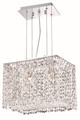 1291D14C-CL/SA 1291 Moda Collection Hanging Fixture L14in W9.5in H11in Lt: 2 Chrome Finish (Swarovski Spectra Clear