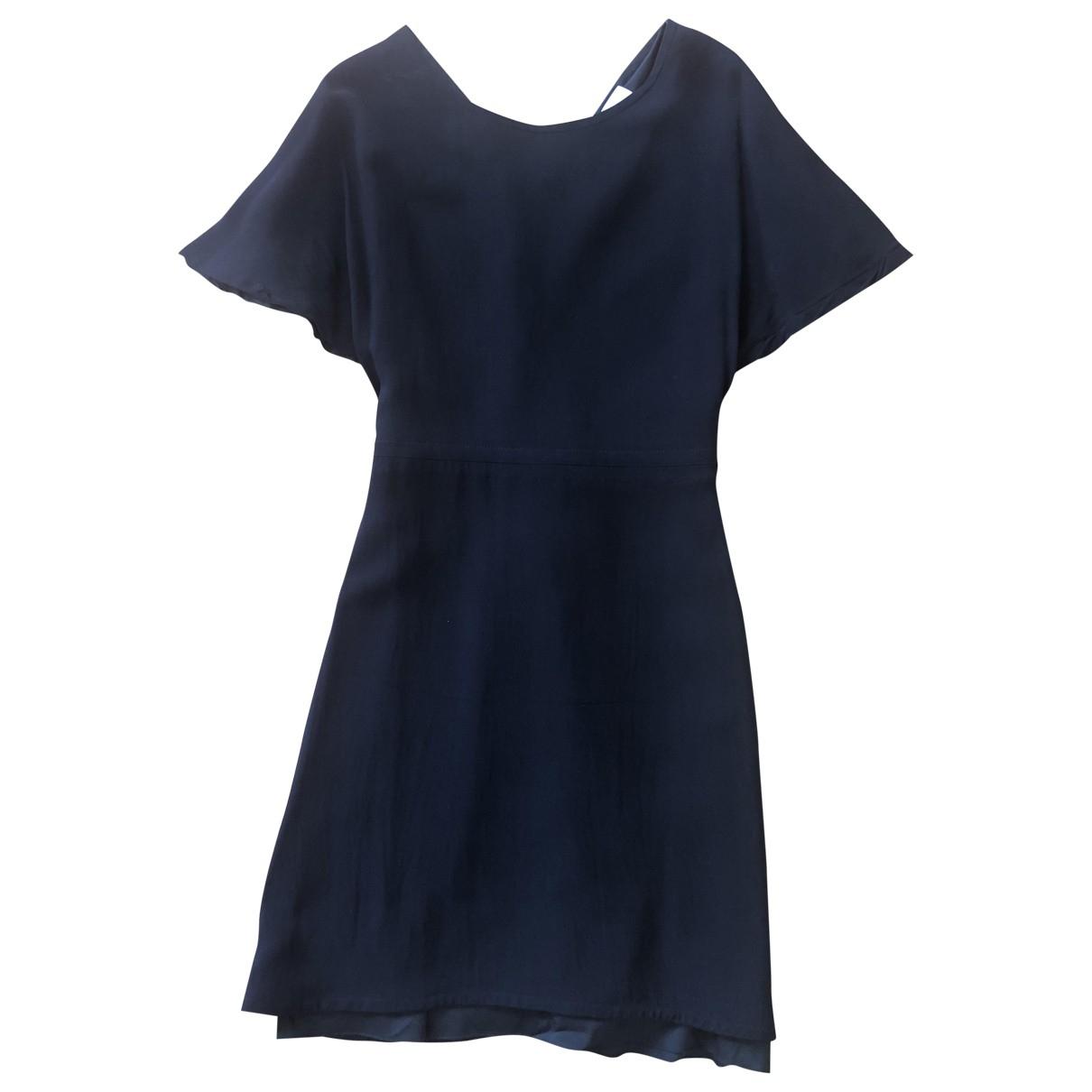 Valentino Garavani \N Black Silk dress for Women 40 IT