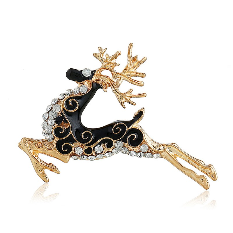 Ericdress Christmas Deer Brooches