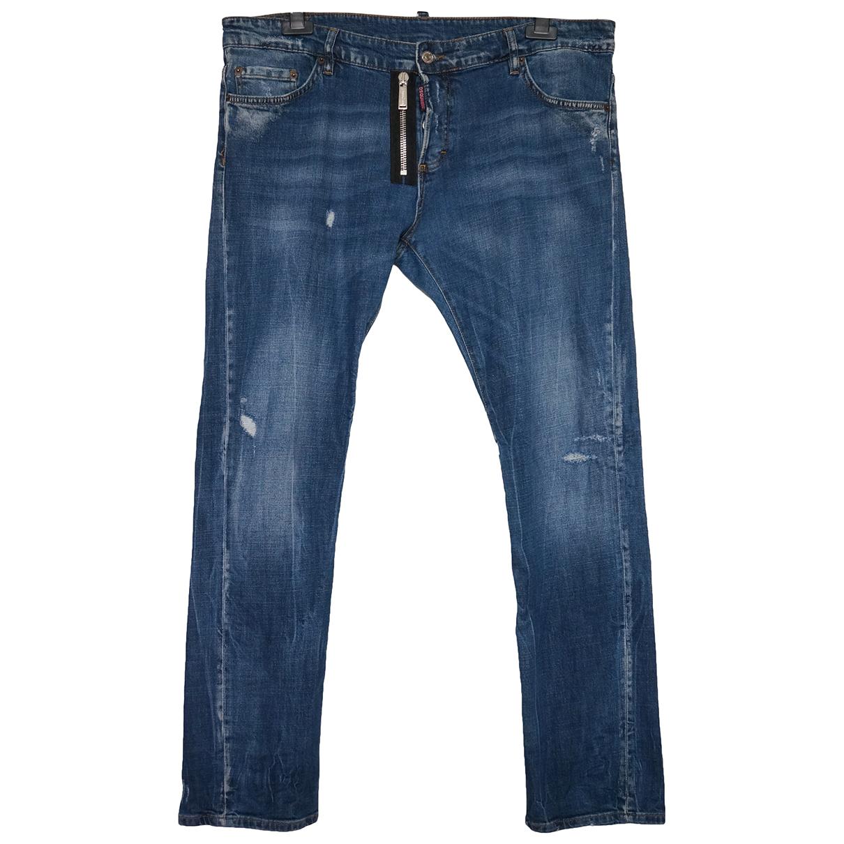 Dsquared2 N Blue Cotton - elasthane Jeans for Men 34 US