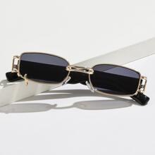 Gafas de sol de marco metalico
