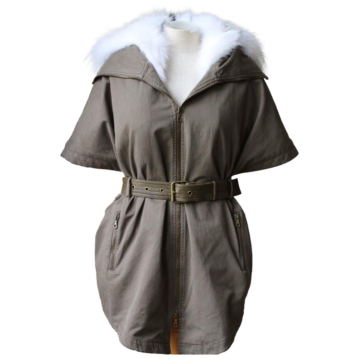 Army - Manteau   pour femme en coton - kaki