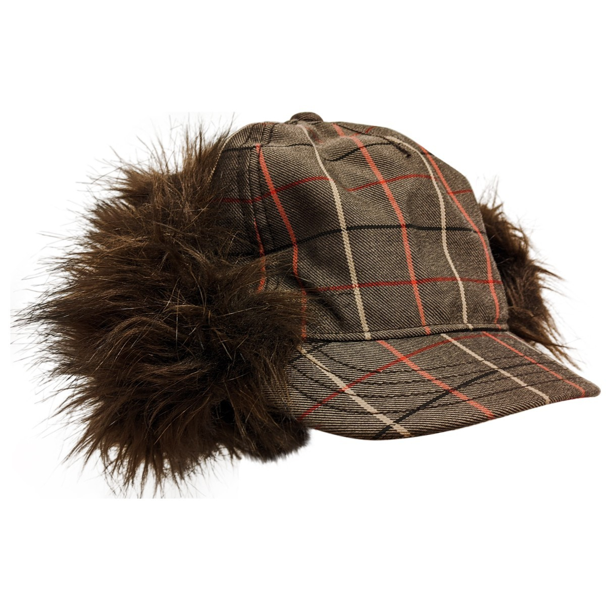Non Signé / Unsigned N Brown Wool hat for Women M International