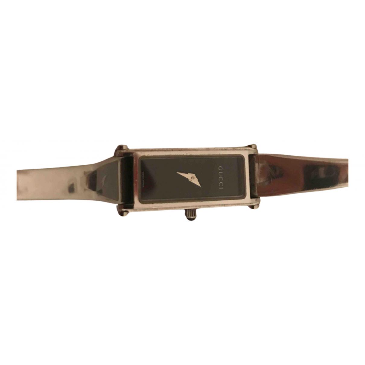Gucci - Montre Horsebit pour femme en acier - gris