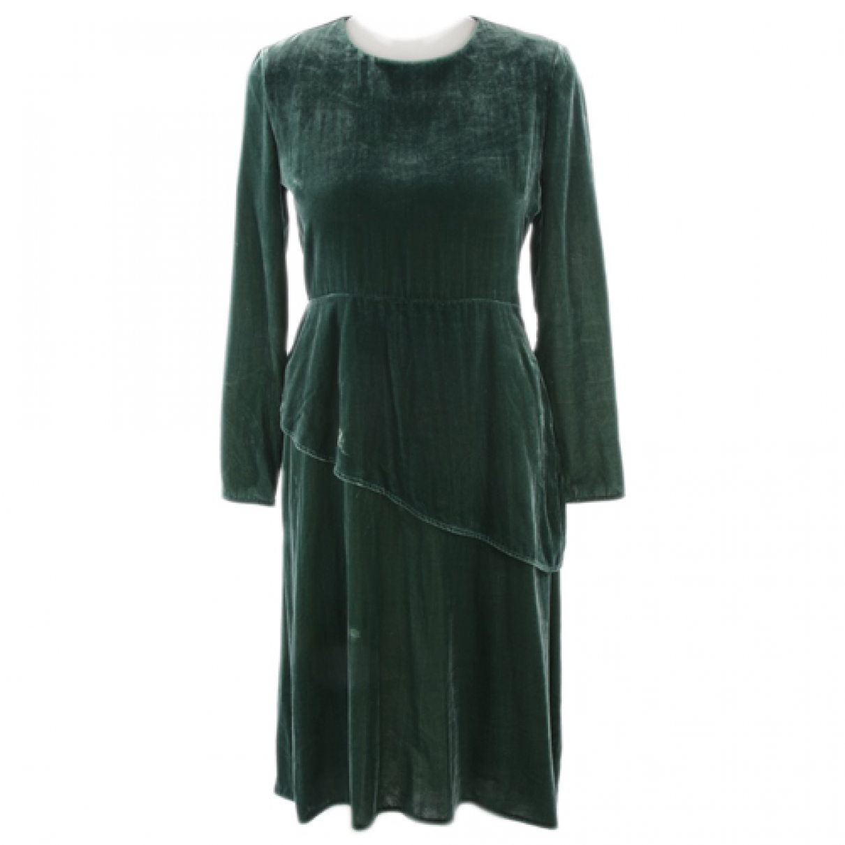 Maje \N Kleid in  Gruen Viskose