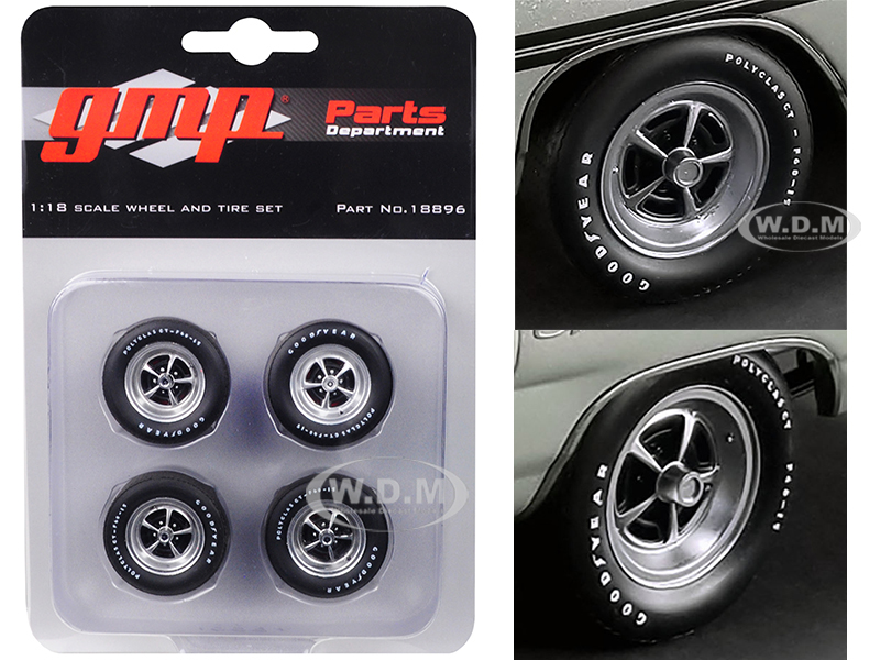 Magnum Wheels and Tires Set of 4 pieces from