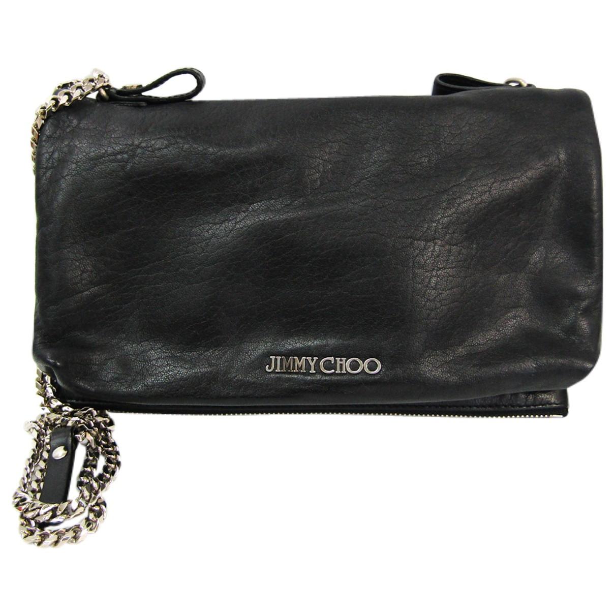 Jimmy Choo N Black Leather handbag for Women N