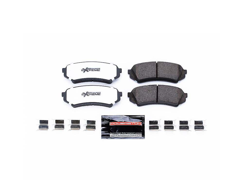 Power Stop Z36-773 Z36 Truck & Tow Brake Pads w/Hardware Rear Lexus LX470 1998-2007