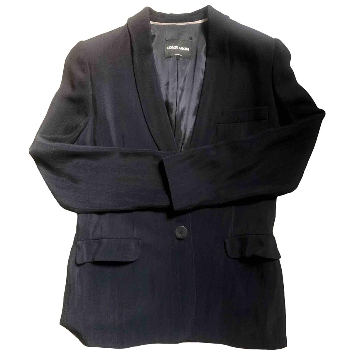 Giorgio Armani - Veste   pour femme - bleu