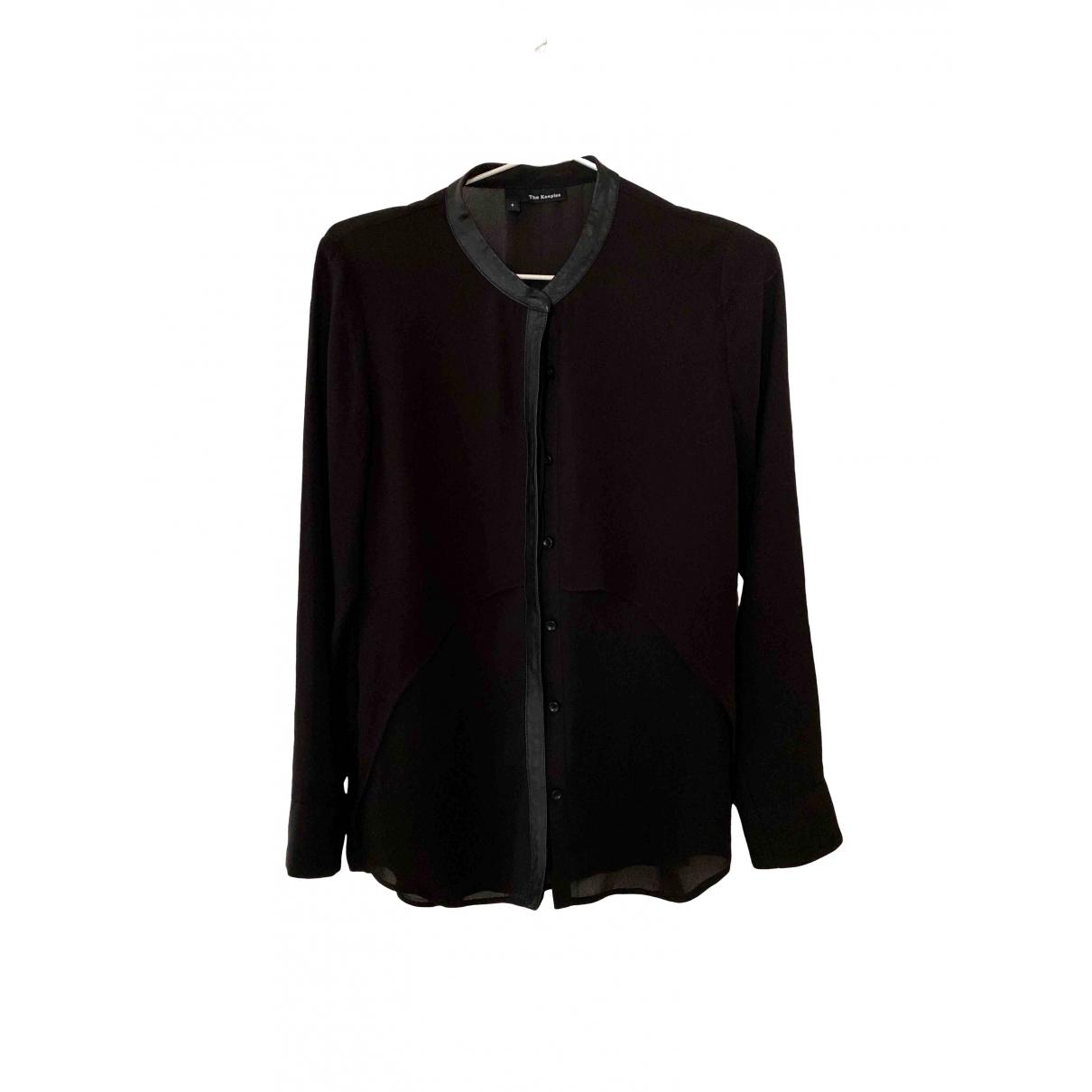 The Kooples \N Black  top for Women S International