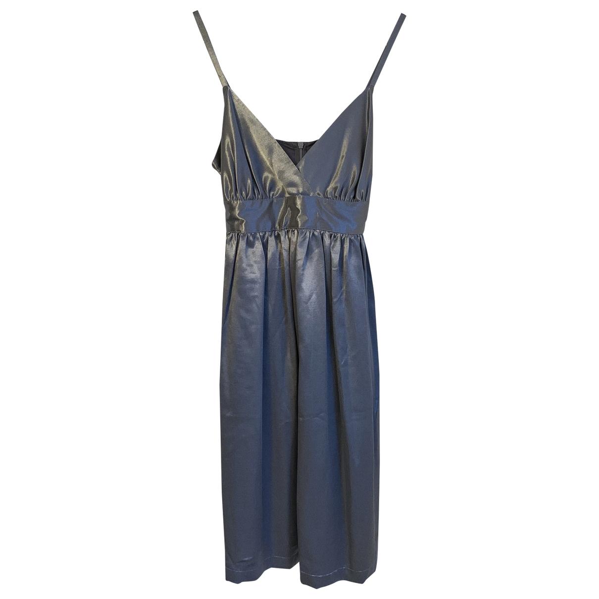 Tophop \N Kleid in  Grau Viskose