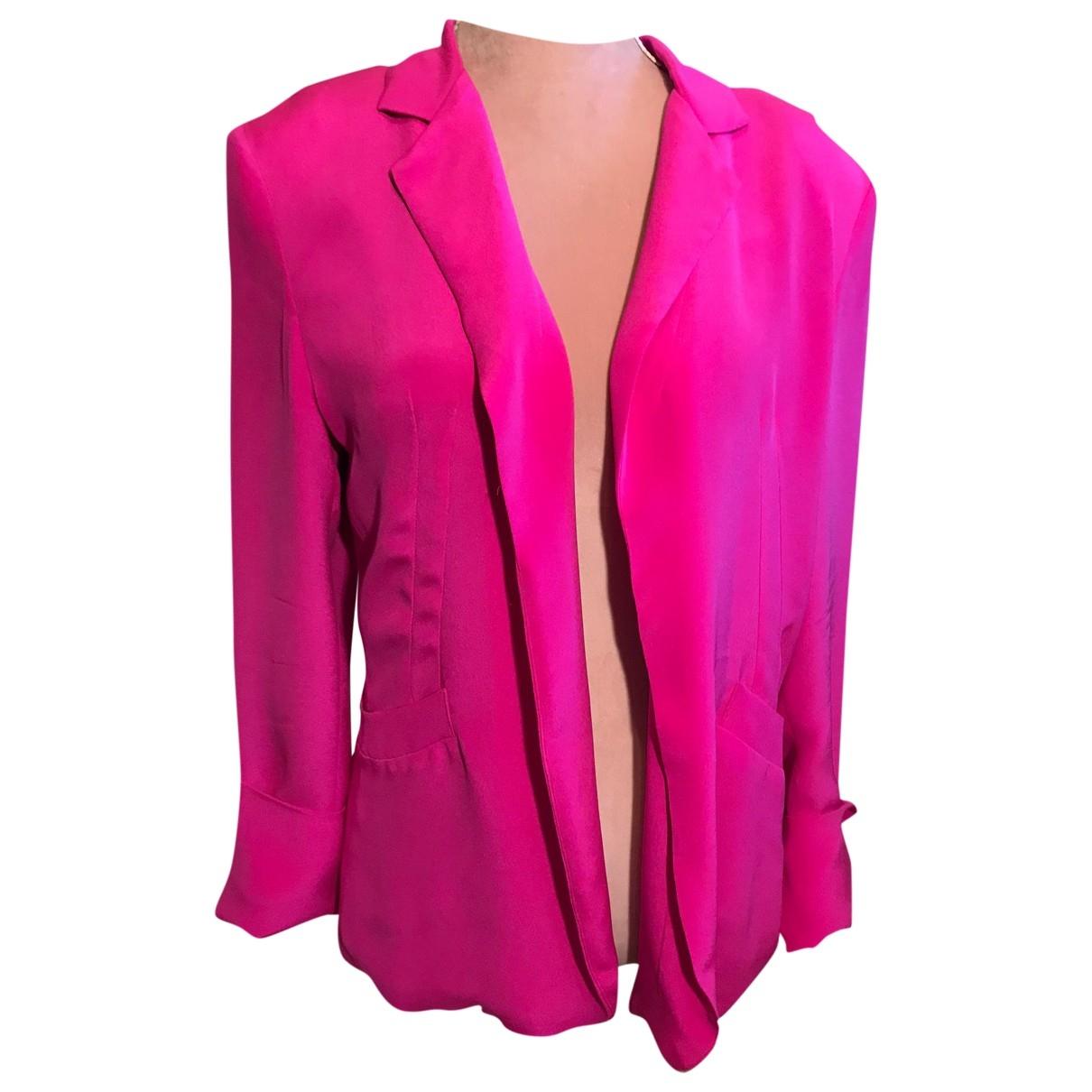 Naven - Veste   pour femme en soie - rose