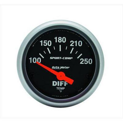 Auto Meter Sport-Comp Electric Differential Temperature Gauge - 3349