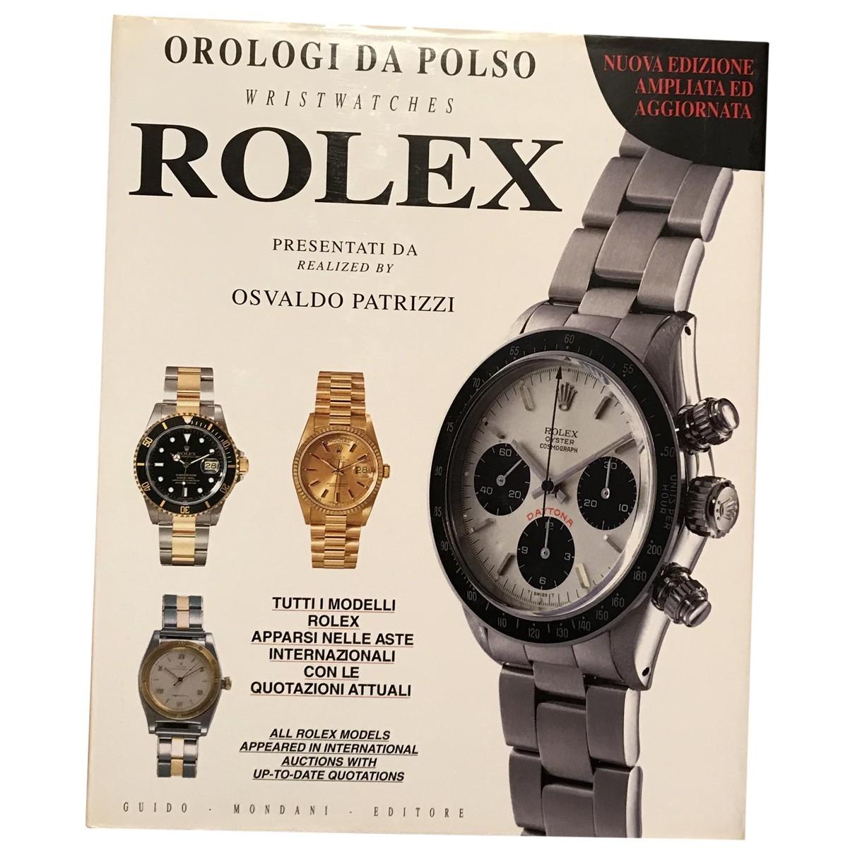 Rolex - Mode   pour lifestyle en bois - blanc