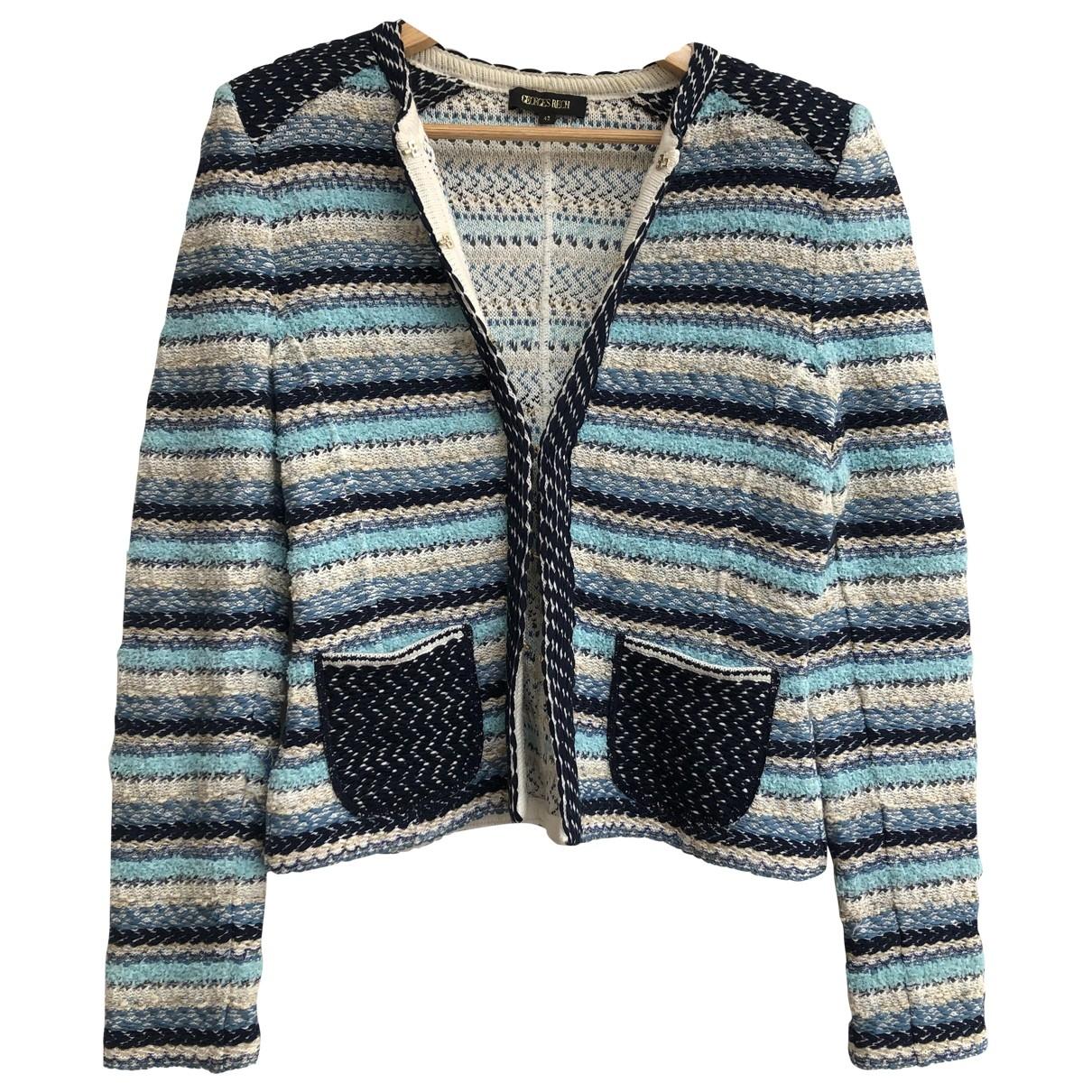 Georges Rech \N Blue Cotton jacket for Women 42 FR