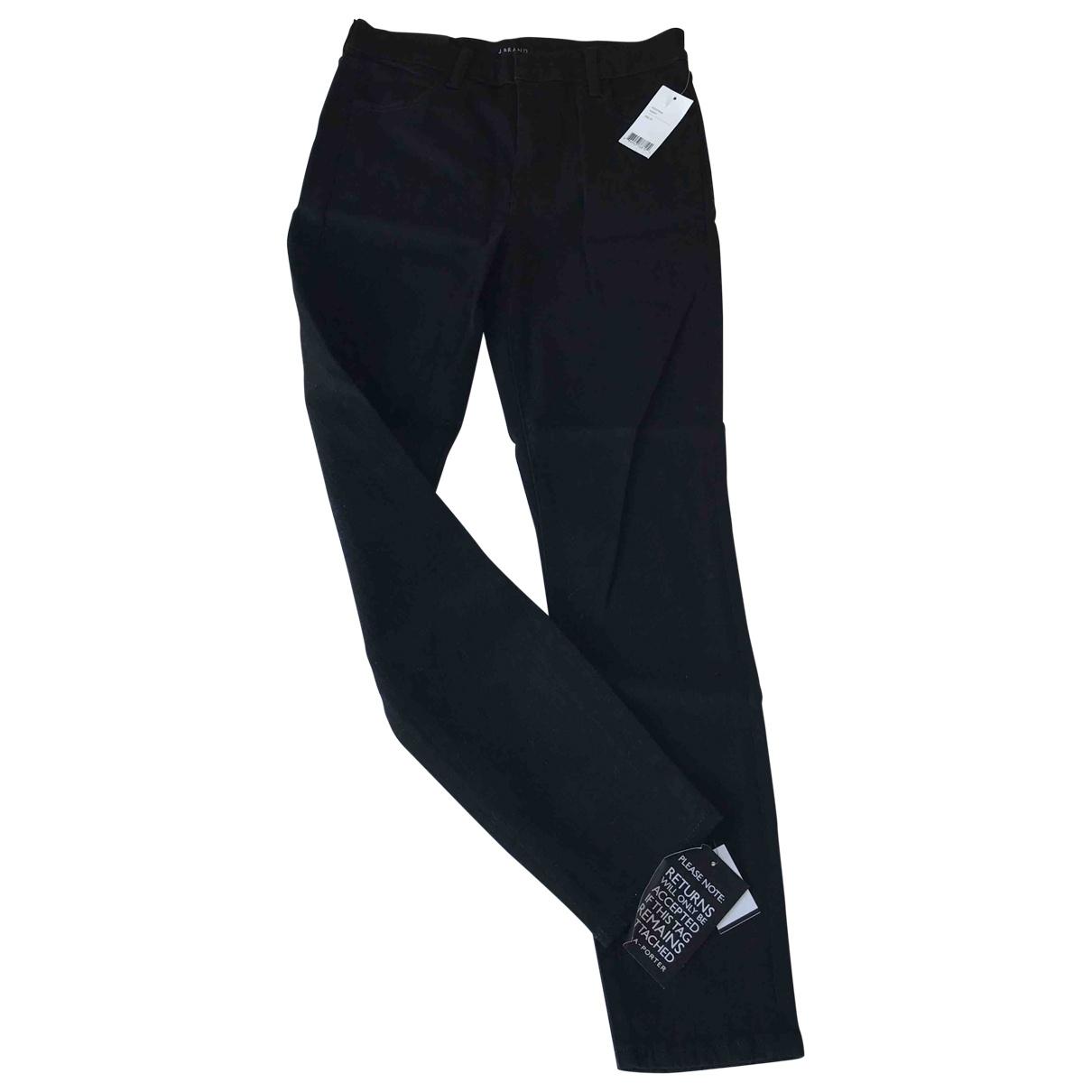 J Brand \N Black Cotton - elasthane Jeans for Women 27 US