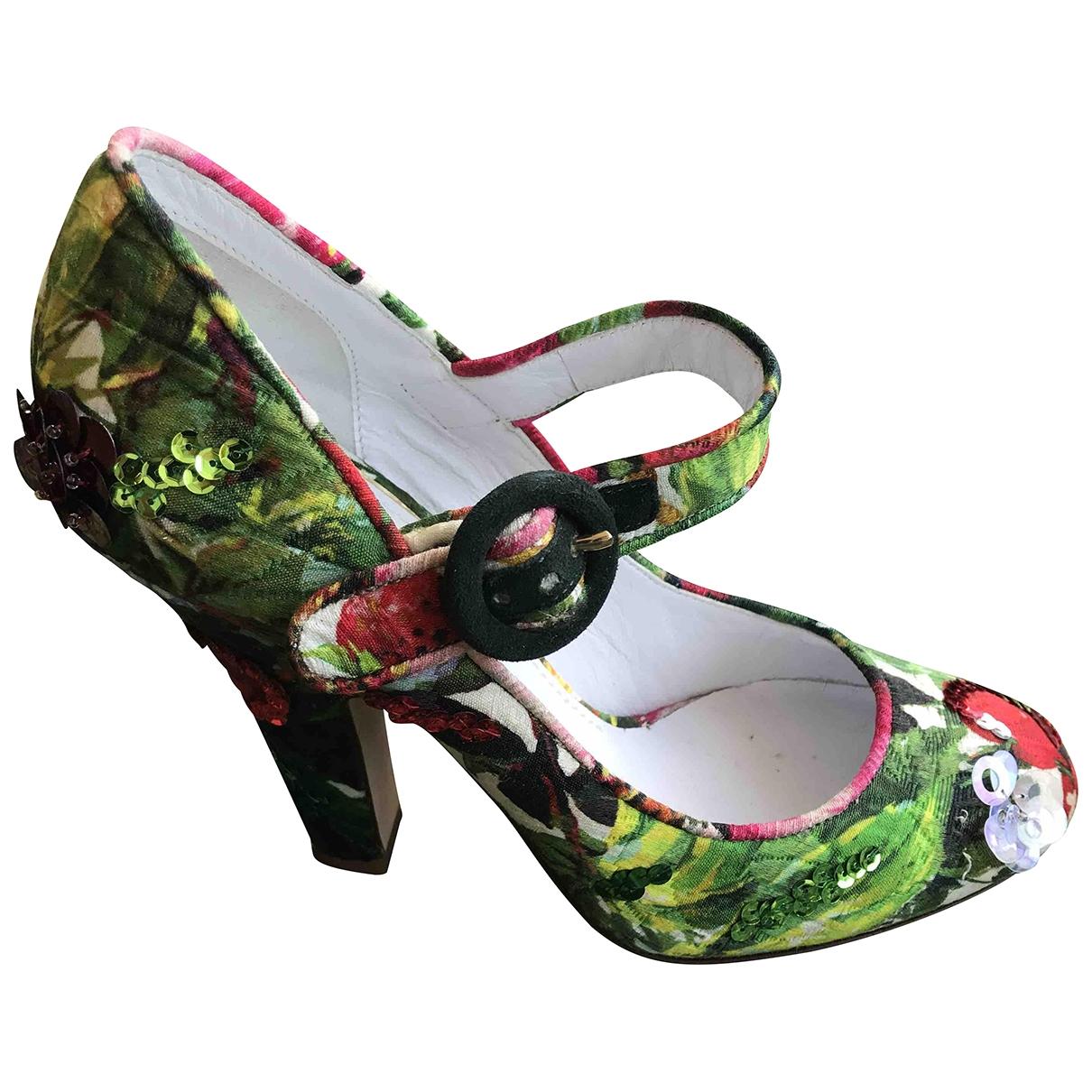 Dolce & Gabbana \N Pumps in  Bunt Leinen