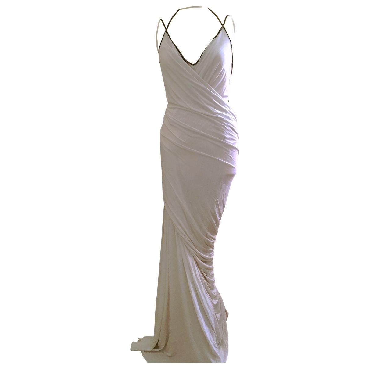 Donna Karan \N Kleid in  Weiss Viskose
