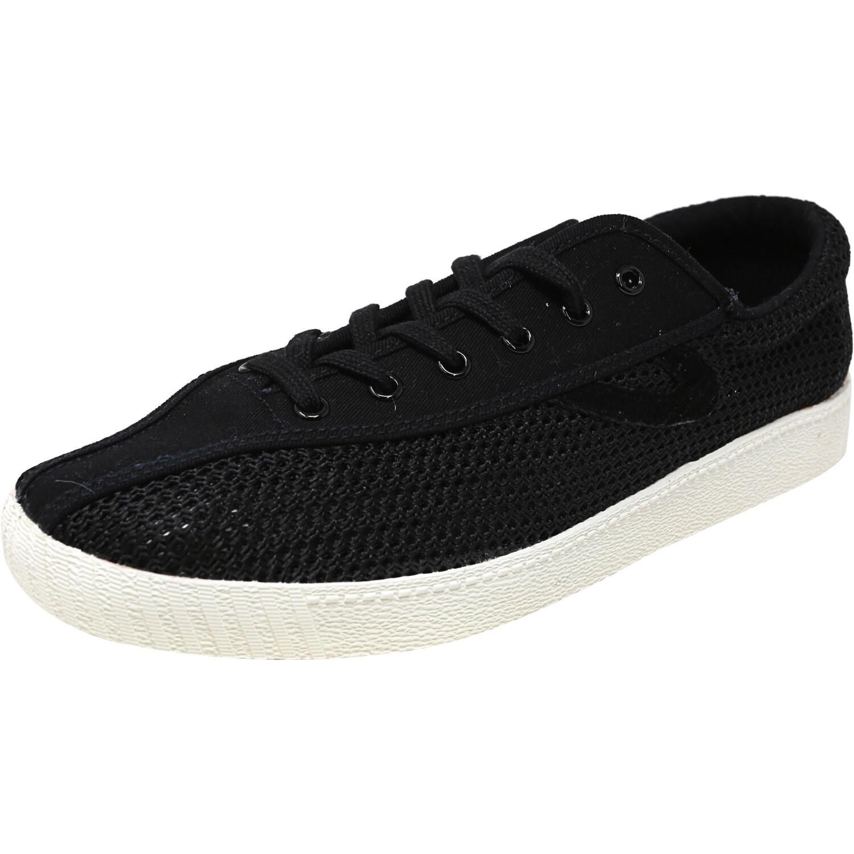 Tretorn Women's Nylite 12 Plus Fabric Black / Ankle-High Sneaker - 4M