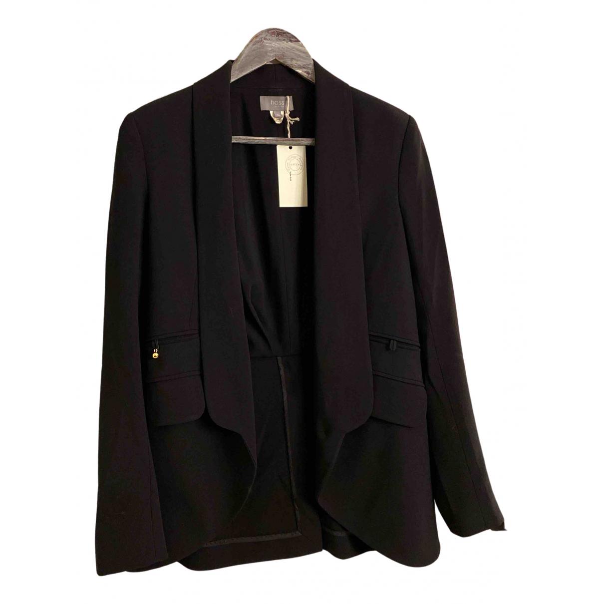 Hoss Intropia N Black jacket for Women 36 FR