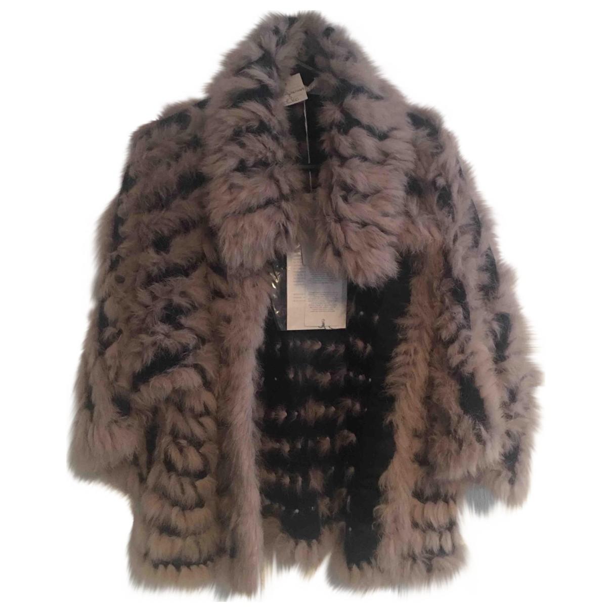 Patrizia Pepe \N Blue Rabbit jacket for Women 12 UK