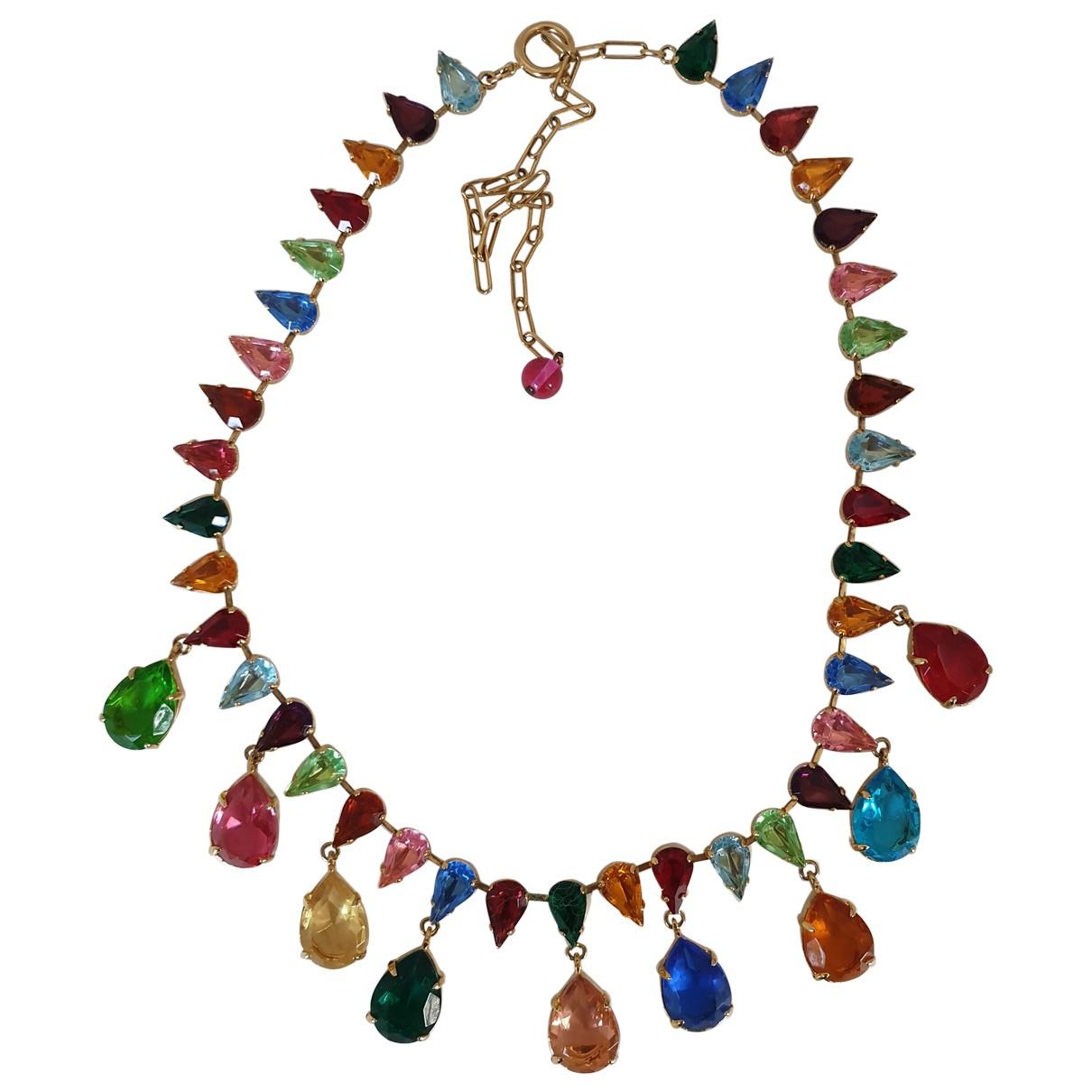 Carlo Zini - Collier   pour femme en verre - multicolore