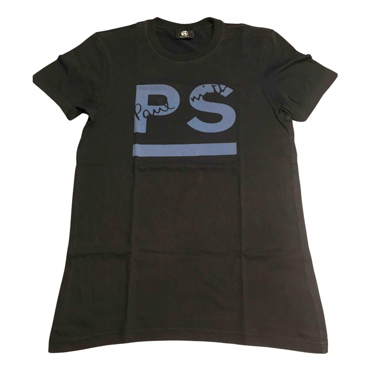 Paul Smith - Tee shirts   pour homme en coton - bleu