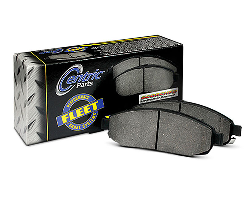 Centric Fleet Performance Pads with Hardware Front Lincoln Navigator 2003