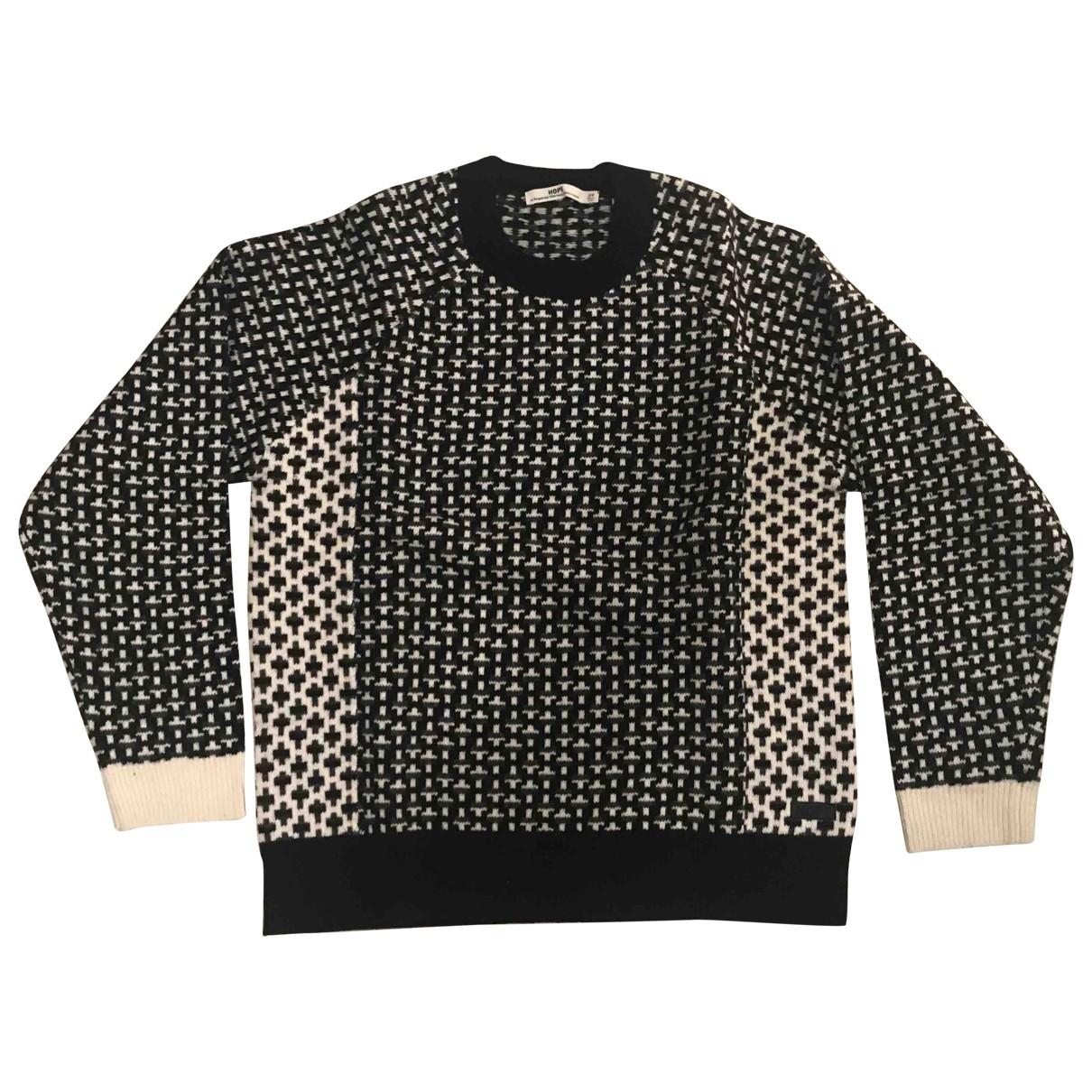 Hope \N Pullover.Westen.Sweatshirts  in  Schwarz Wolle