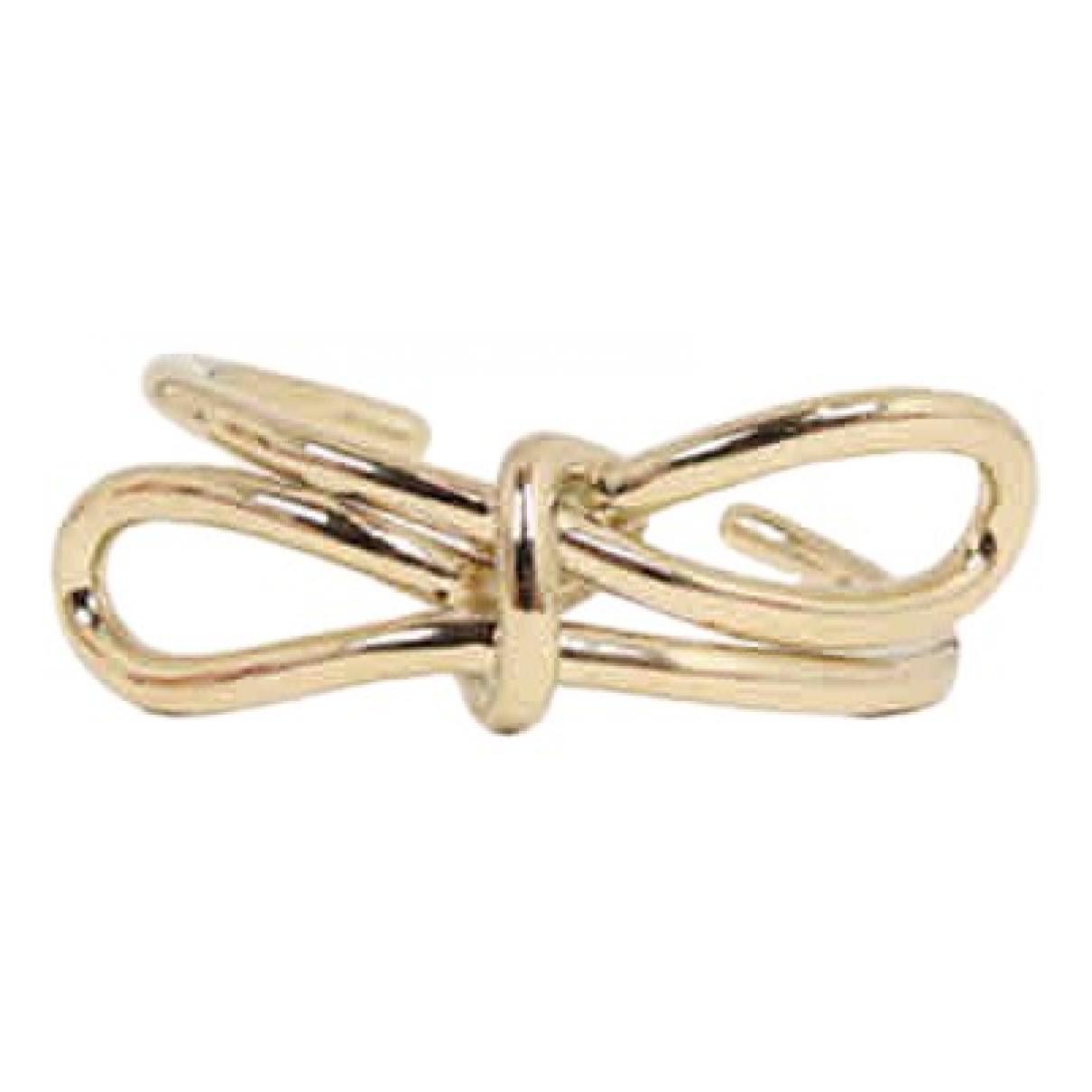 Balenciaga \N Gold Gold plated ring for Women 52 EU