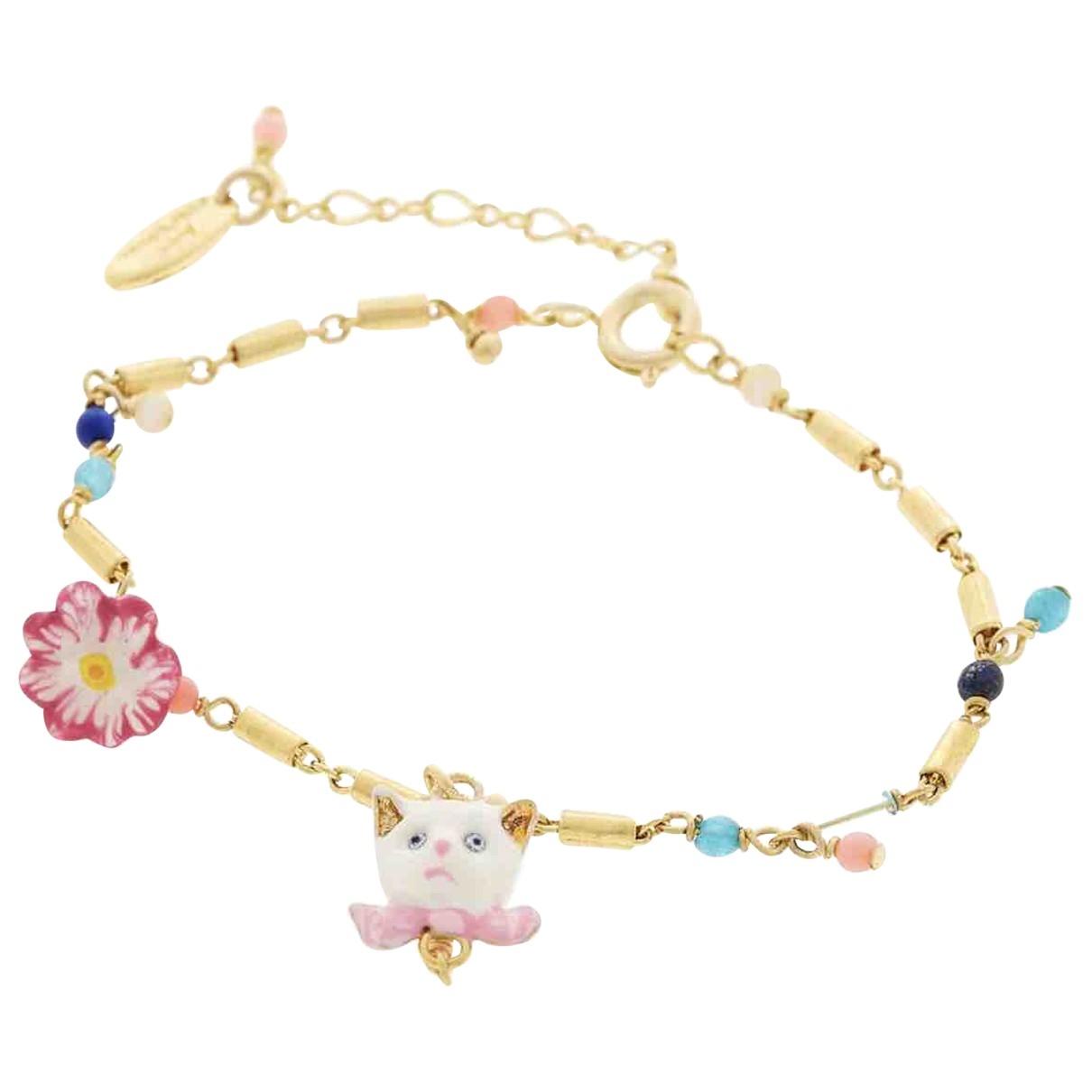Les Nereides - Bracelet   pour femme en metal - multicolore