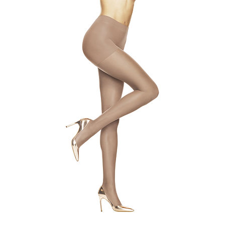 Hanes Absolutely Ultra-Sheer Control-Top Pantyhose, D , Beige