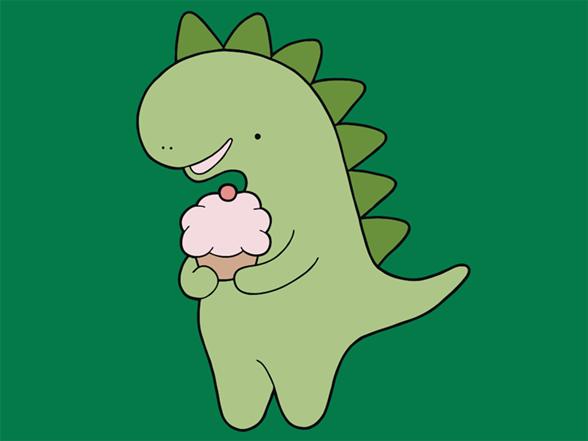 Cupcakeosaur T Shirt