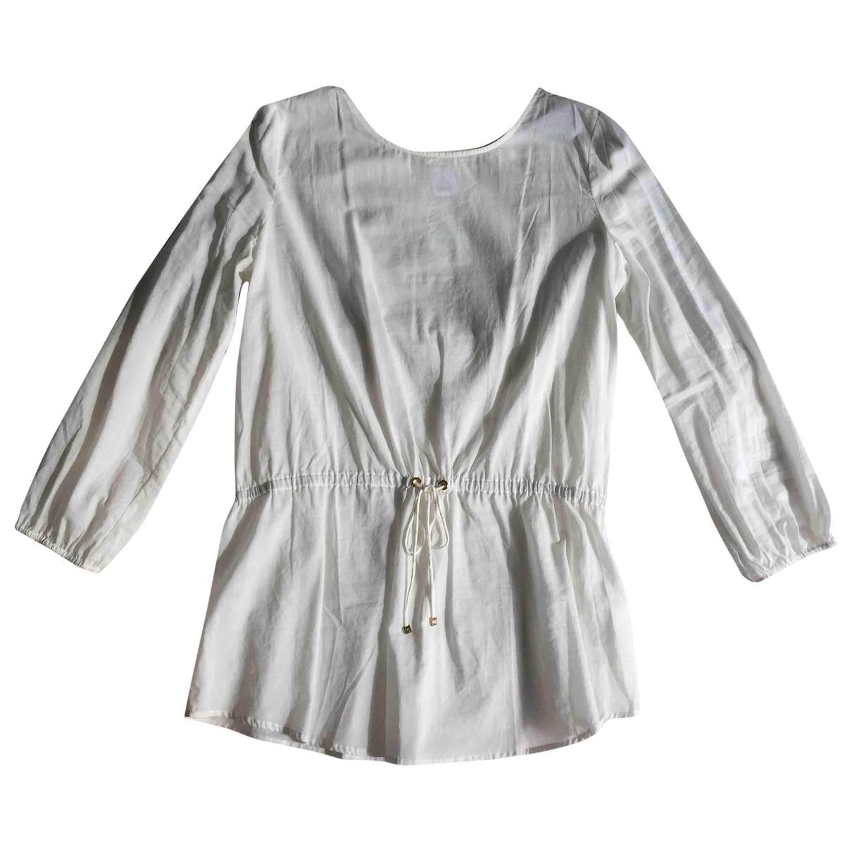 Michael Kors \N White Cotton dress for Women M International