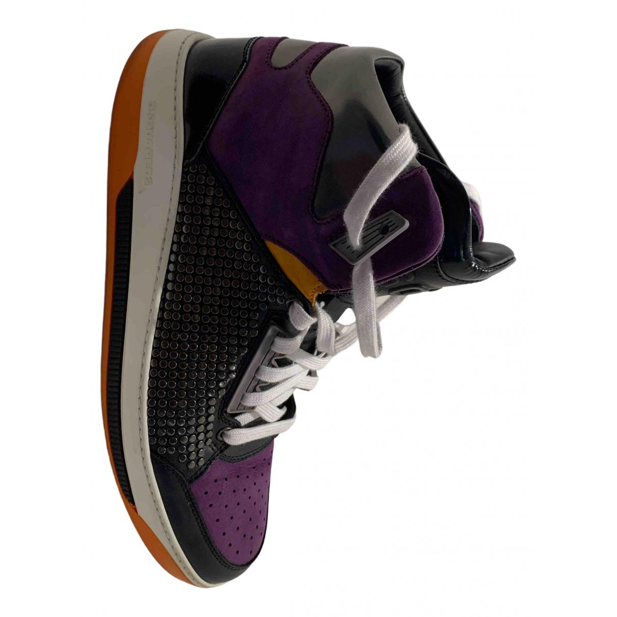Dsquared2 \N Sneakers in  Lila Leder